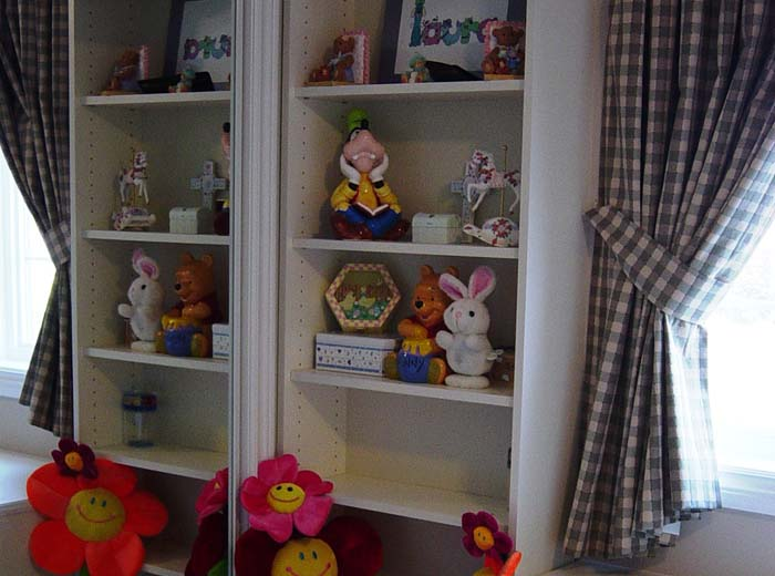 Wall unit for children's room
