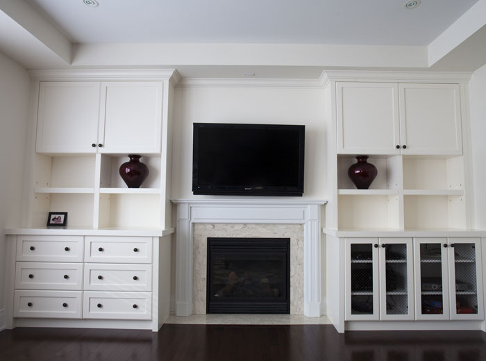 Custom entertainment centre