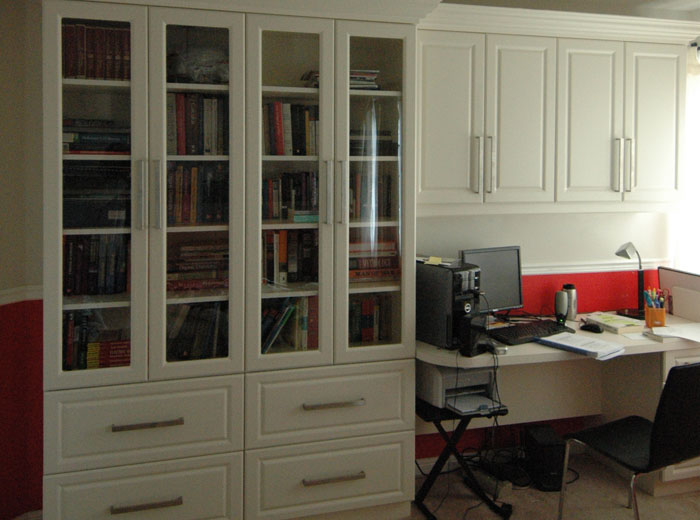office unit. library and office unit