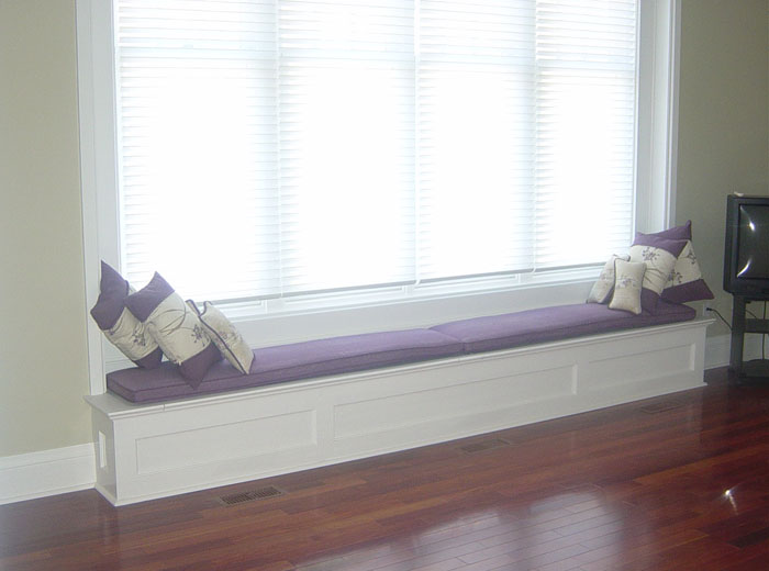 Custom Window Bench Seat With Storage Millo Closets And